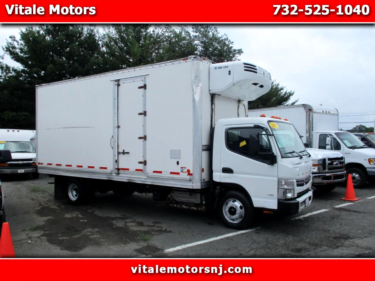 2012 Mitsubishi Fuso FE 18 FOOT REEFER BOX 52K MILES