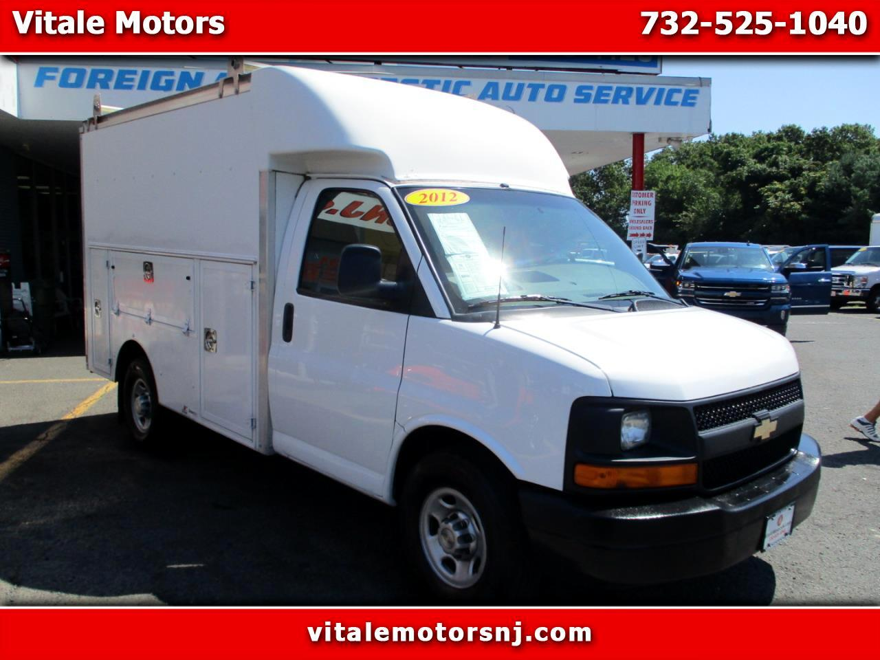 2012 Chevrolet Express G3500 10 FOOT UTILITY BOX TRUCK