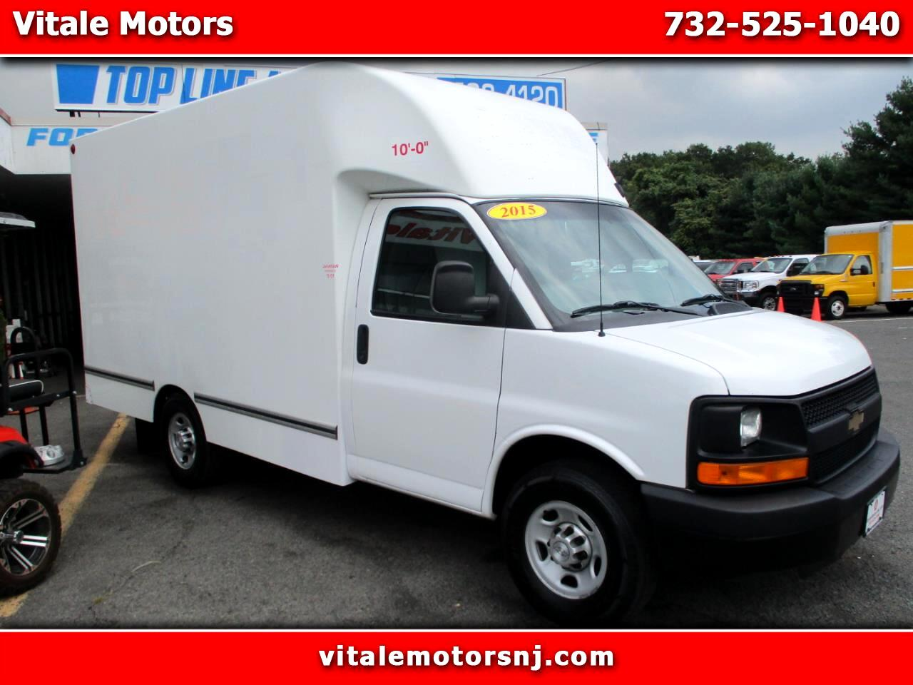 2015 Chevrolet Express G3500 12' CUBE VAN, CUT AWAY, BOX TRUCK