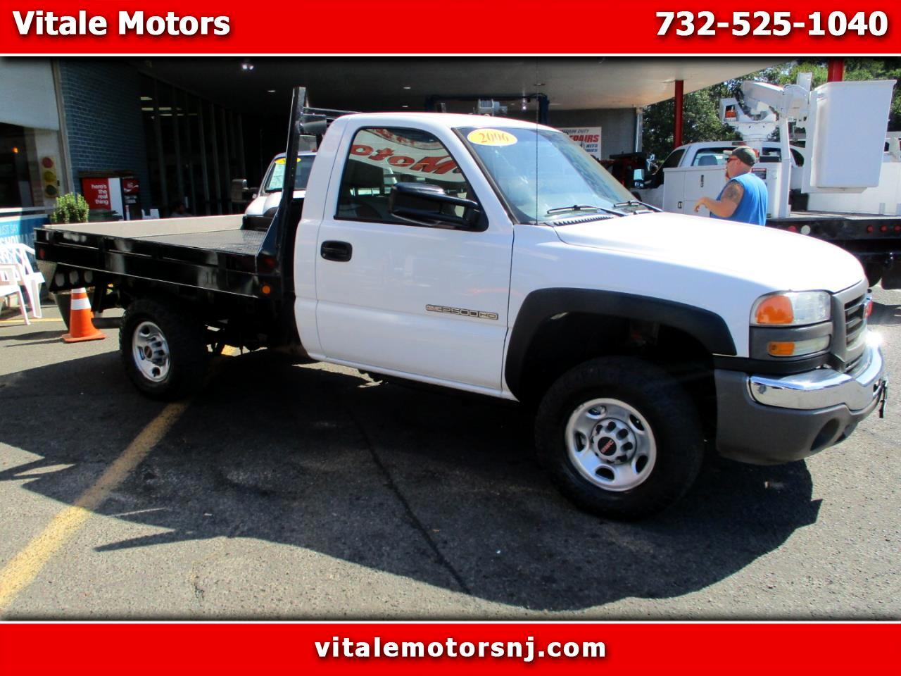 "2006 GMC Sierra 2500HD REG CAB 4X4 FLAT DECK 8'6"" BODY"
