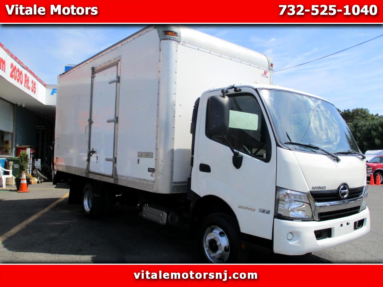 2016 Hino 155 16 FOOT BOX TRUCK W/ SIDE DOOR **22K MILES **