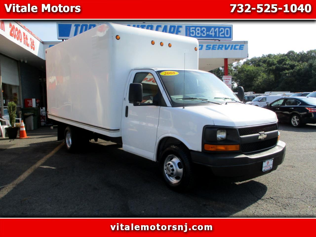 2008 Chevrolet Express G3500 14 FOOT BOX TRUCK 58K MILES