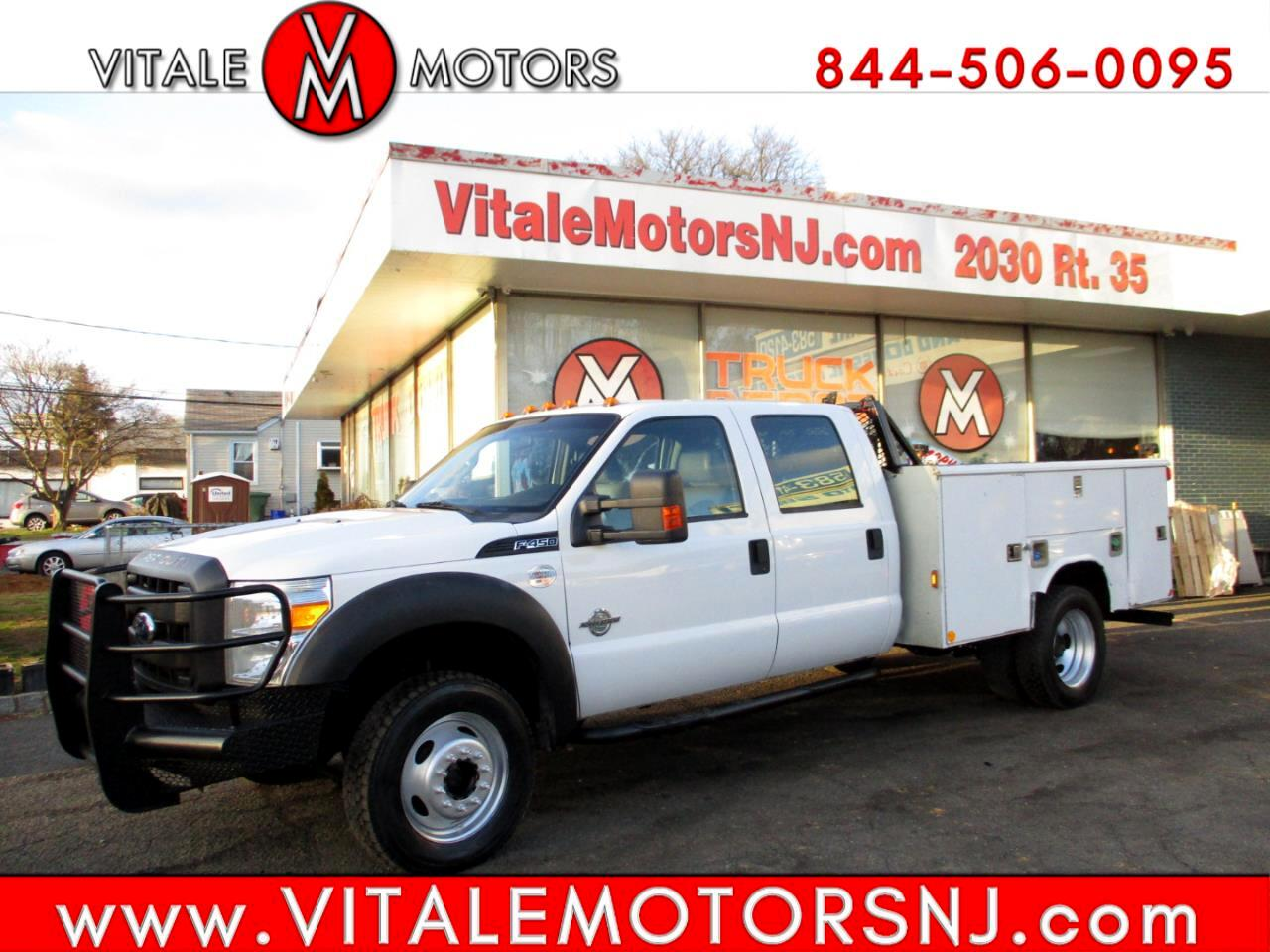 Ford Super Duty F-450 DRW  2011