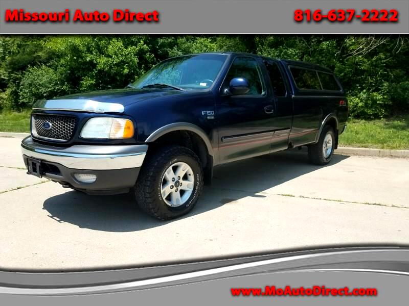 2003 Ford F-150 XLT SuperCab Long Bed 4WD