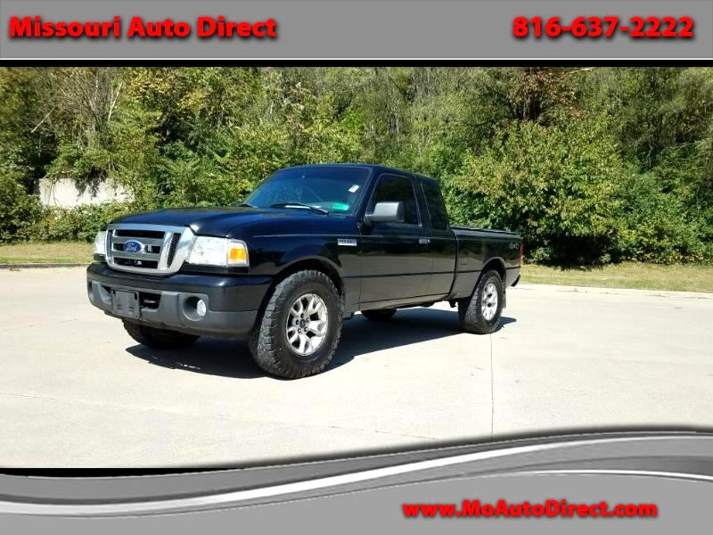 2011 Ford Ranger Sport SuperCab 4-Door 4WD