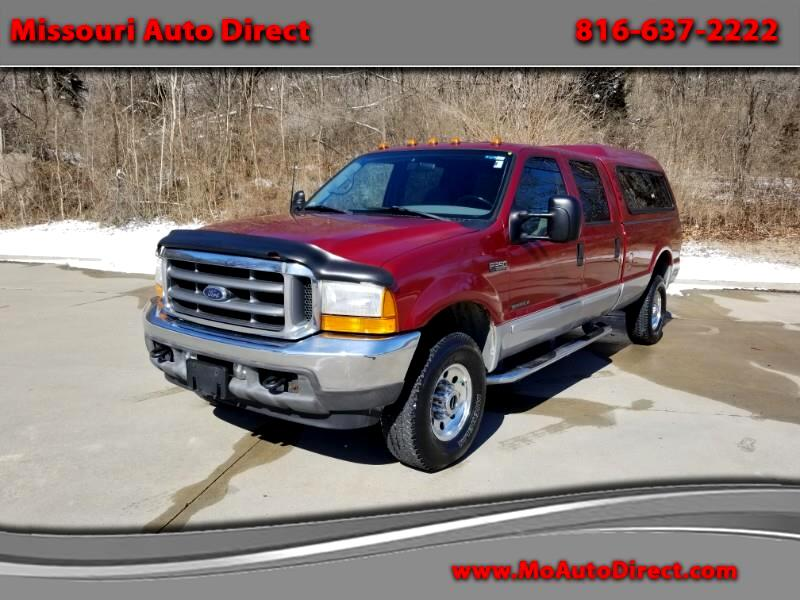 Ford F-350 SD Lariat Crew Cab Long Bed 4WD 2001