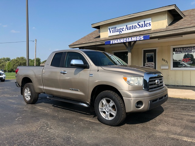 "2007 Toyota Tundra 4WD Double 145.7"" 4.7L V8 LTD (Natl"