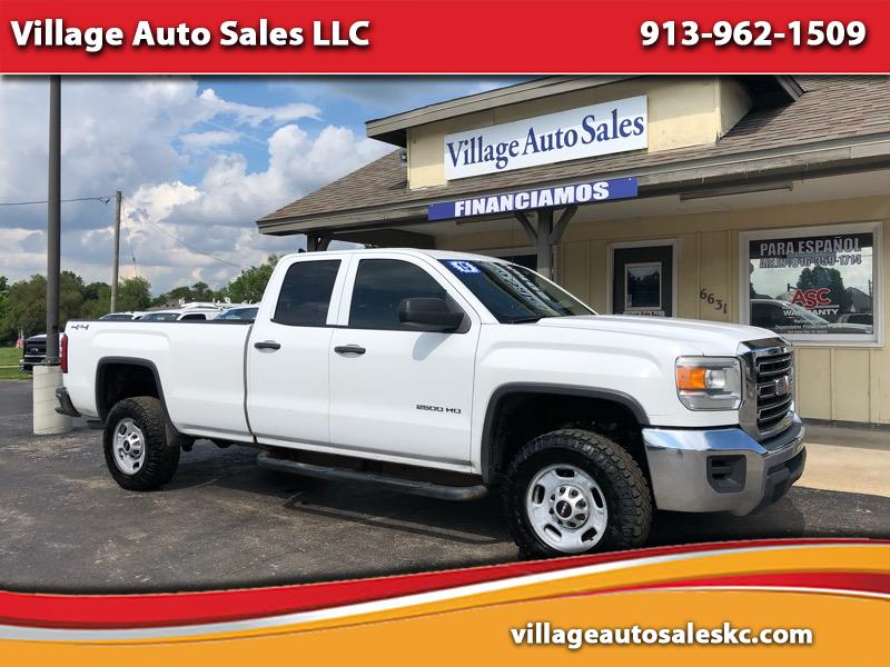 2015 GMC Sierra 2500HD 4WD Double Cab 158.1""