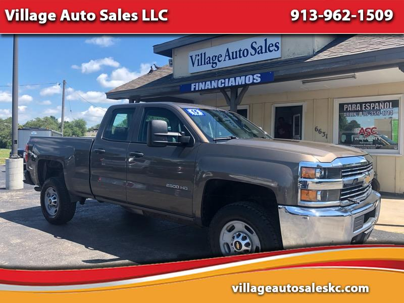 """2015 Chevrolet Silverado 2500HD Built After Aug 14 4WD Double Cab 144.2"""" Work Truck"""