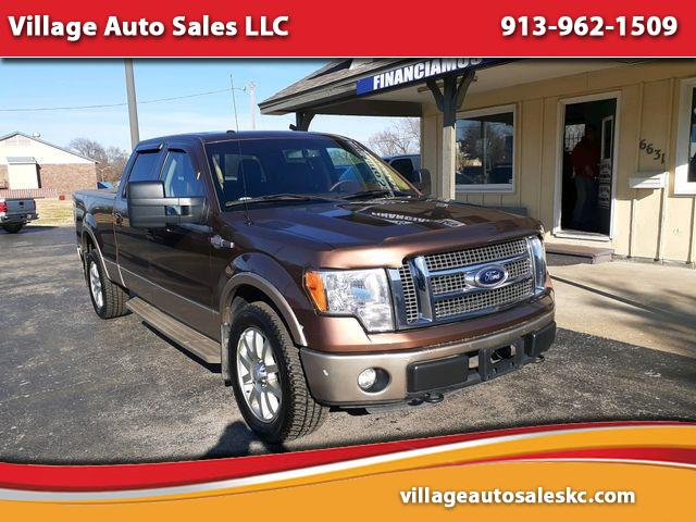 "Ford F-150 4WD SuperCrew 145"" King Ranch 2012"