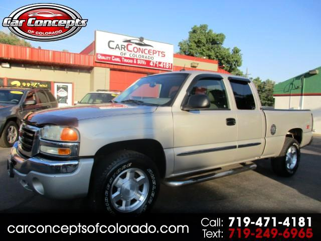 2004 GMC Sierra 1500 SLT Ext. Cab Short Bed 4WD