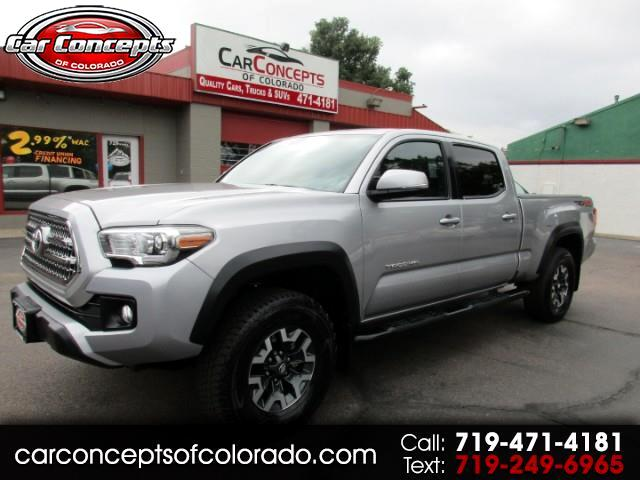 2017 Toyota Tacoma TRD DOUBLE CAB V6 6AT 4WD