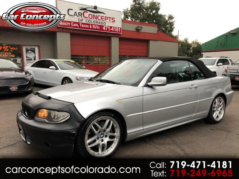 BMW 3-Series 330Ci convertible 2004