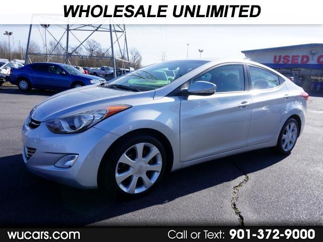 Hyundai Elantra Limited 2012