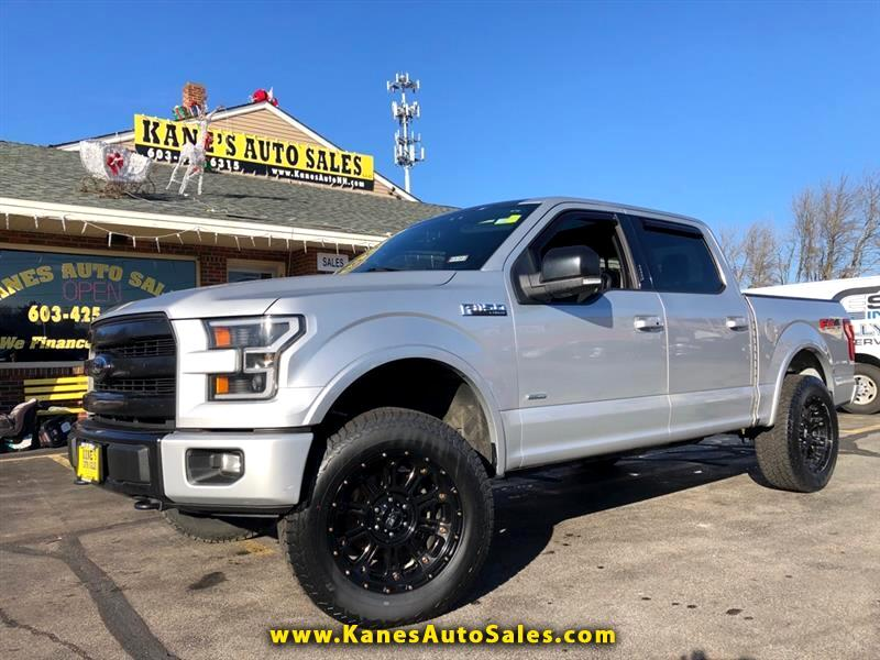 Ford F-150 FX4 SuperCab 4WD 2016