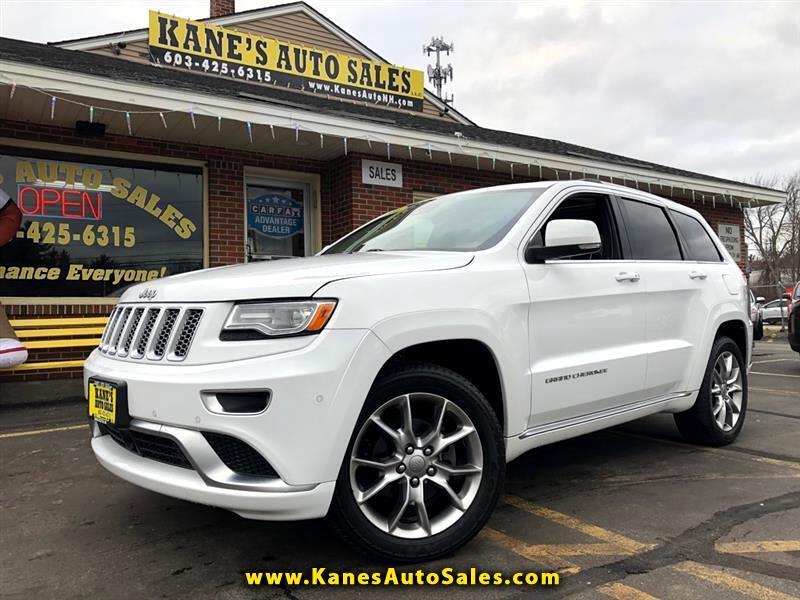 Jeep Grand Cherokee Summit 4WD 2016