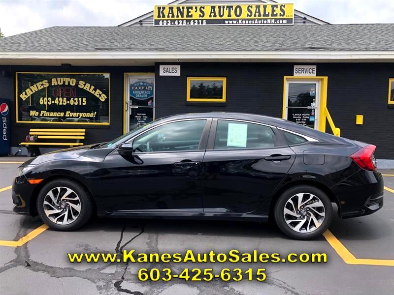 Honda Civic EX Honda Sensing Sedan CVT 2016