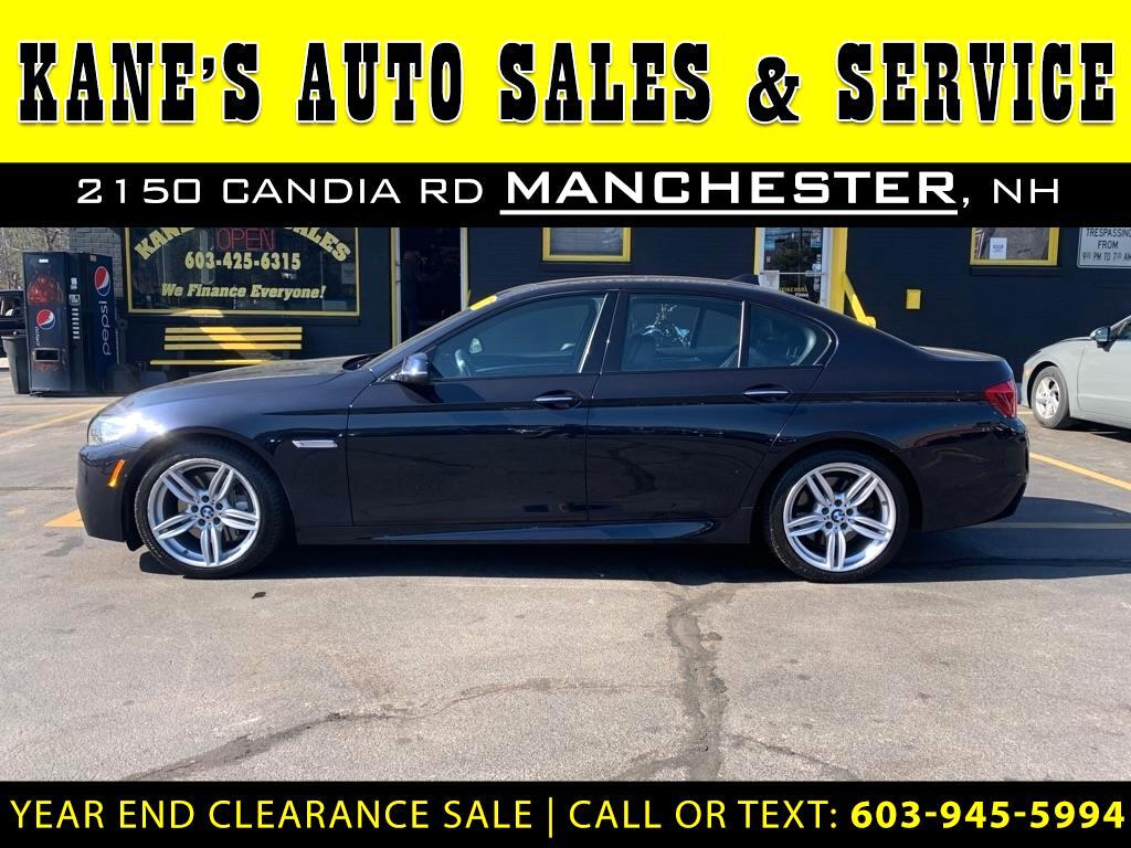 BMW 5-Series 550i xDrive 2014