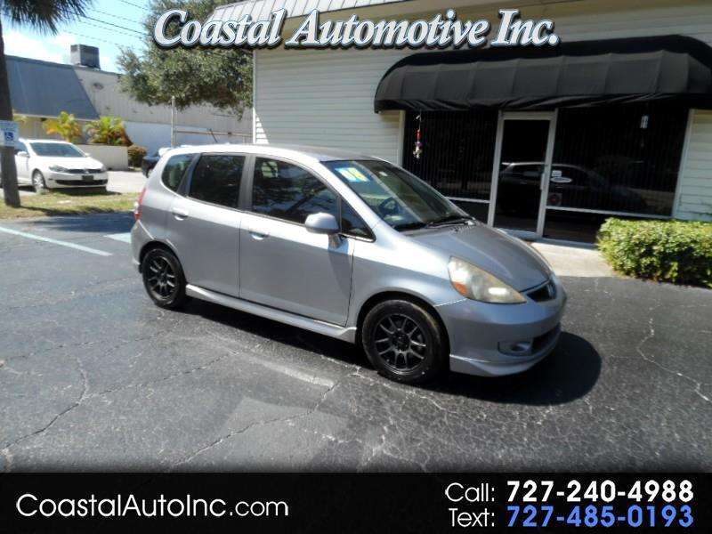 2008 Honda Fit Sport 5-Speed MT