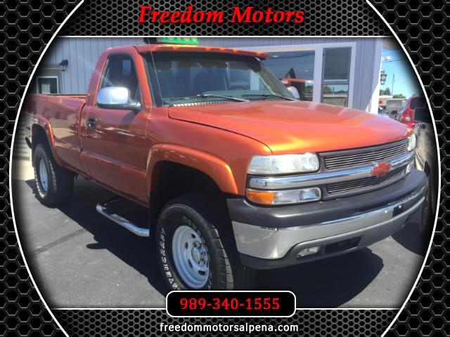2000 Chevrolet Silverado 1500 LS Regular Cab Long Bed 4WD