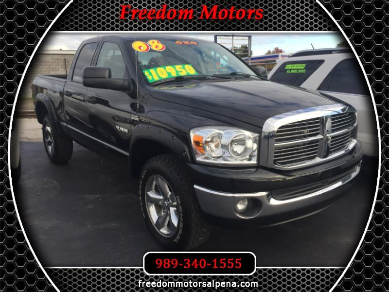 Dodge Ram 1500 SXT Quad Cab Long Bed 4WD 2008