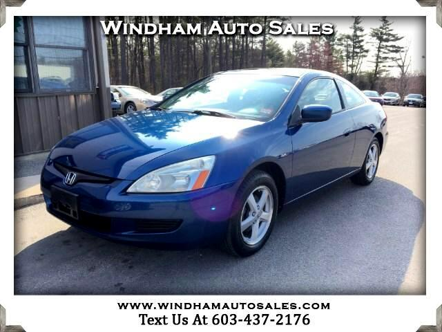 2005 Honda Accord EX Coupe with Side Curtain Airbags