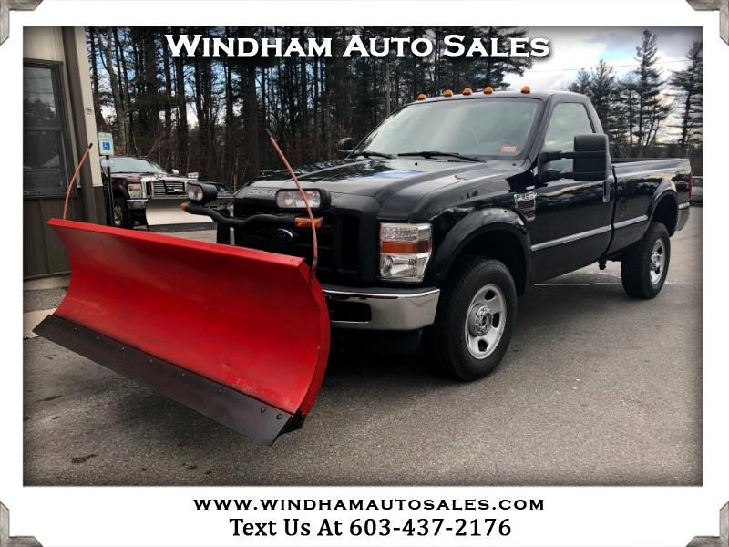 "Ford F-350 SD 4WD Reg Cab 137"" XL 2008"