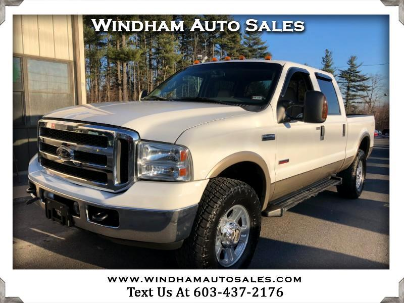 2006 Ford F-350 SD XL Crew Cab 4WD