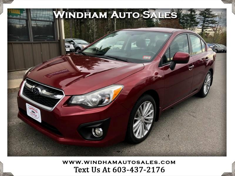 2012 Subaru Impreza Limited 4-Door