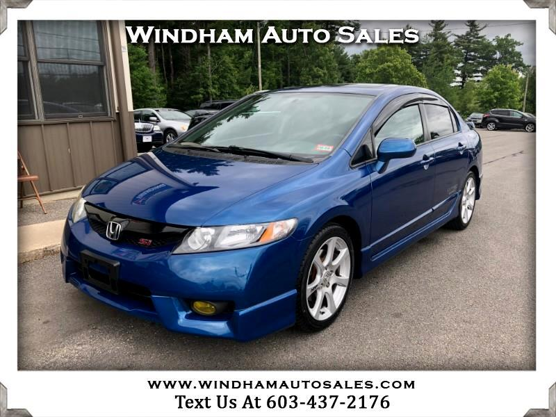 2011 Honda Civic Si Sedan 6-Speed MT