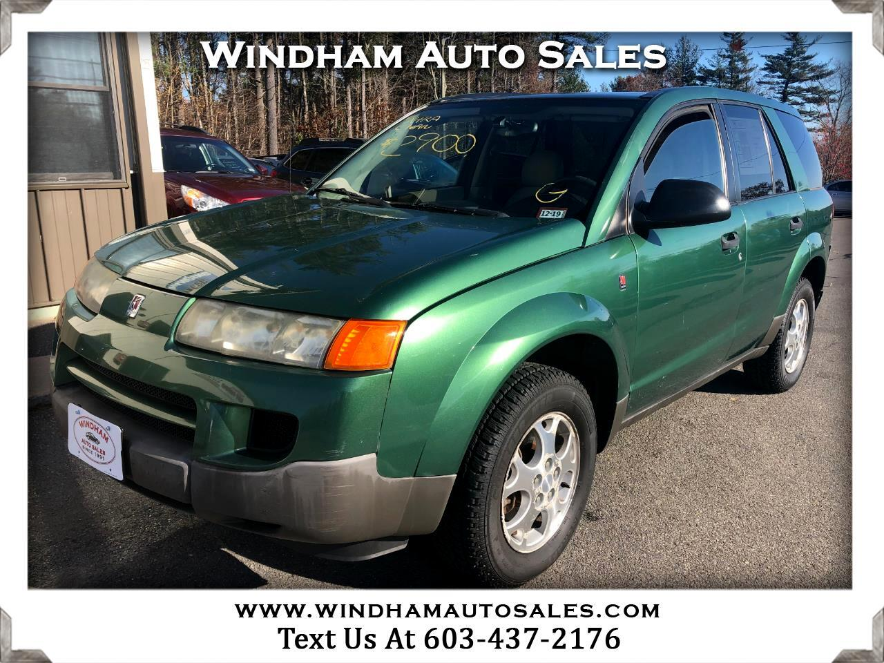 Saturn VUE 4dr FWD Manual 2004