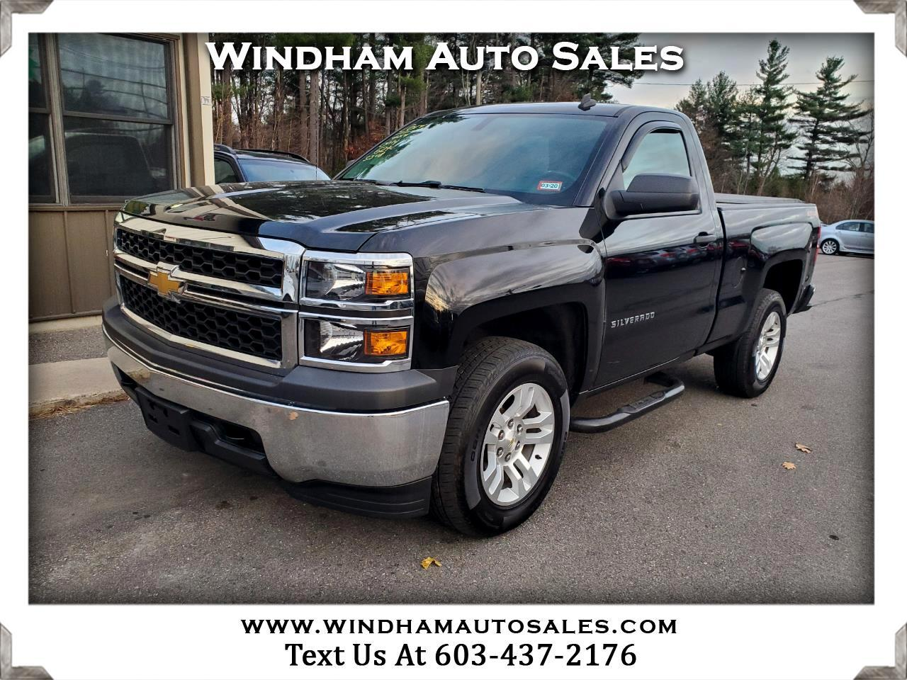 Chevrolet Silverado 1500 Reg. Cab Short Bed 4WD 2014