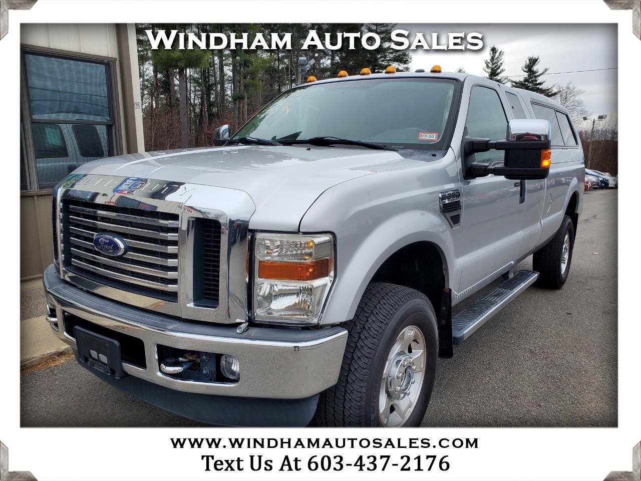 Ford Super Duty F-350 SRW XLT 4WD SuperCab 8' Box 2010