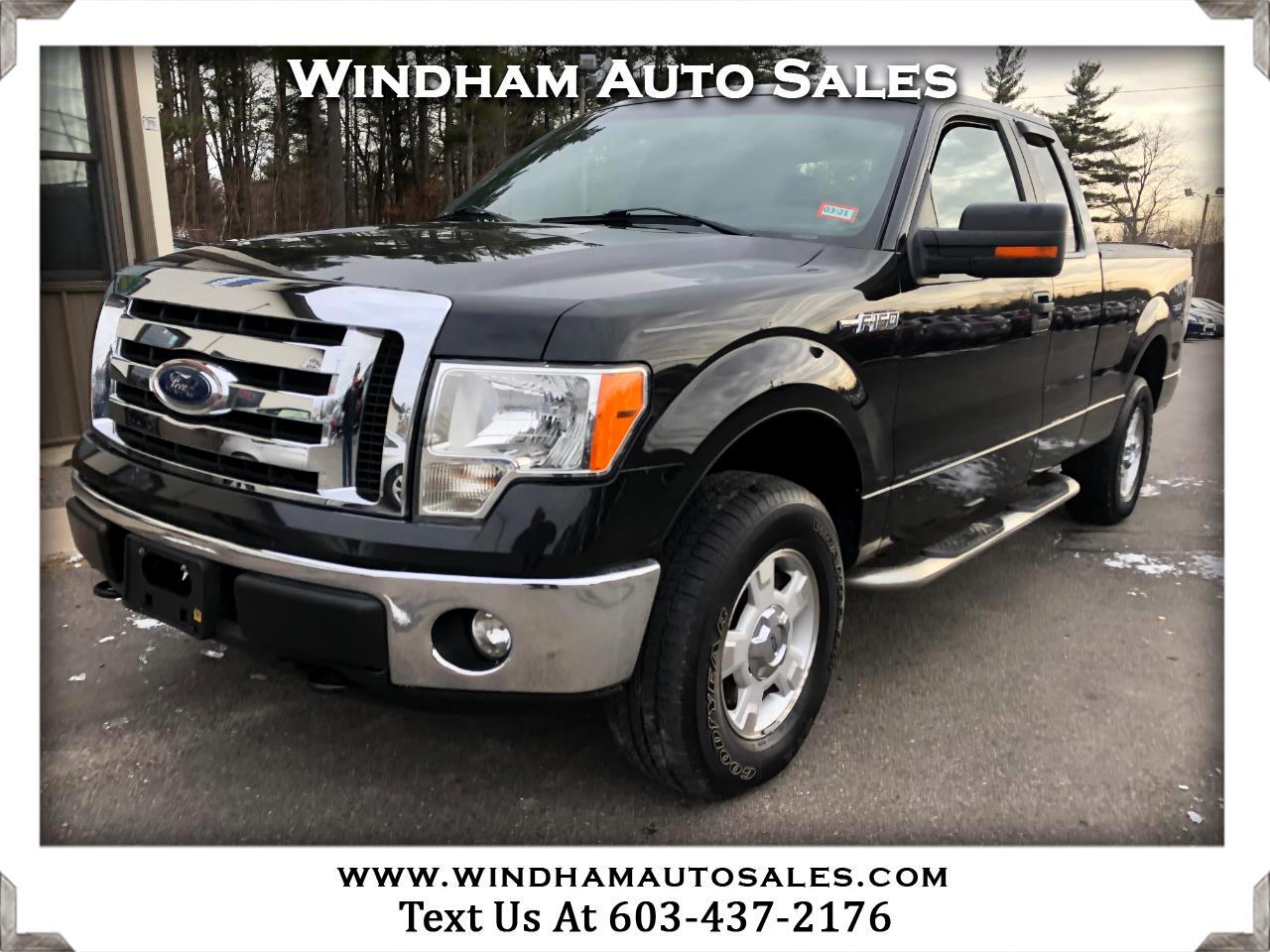 Ford F-150 XLT SuperCab 4WD 2012