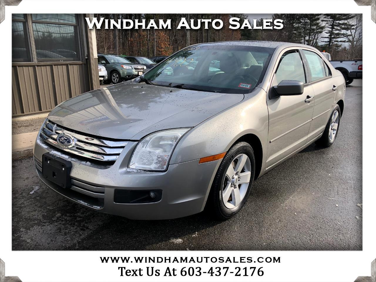 Ford Fusion 4dr Sdn I4 SE FWD 2009