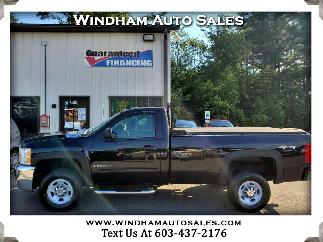 Chevrolet Silverado 2500HD LT Regular Cab 4WD 2009