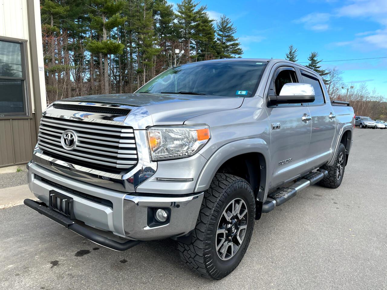 Toyota Tundra 4WD Truck CrewMax 5.7L FFV V8 6-Spd AT LTD (Natl) 2014