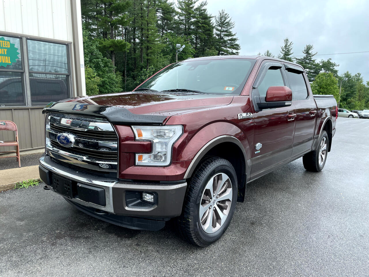 Ford F-150 King Ranch 4WD SuperCrew 5.5' Box 2015