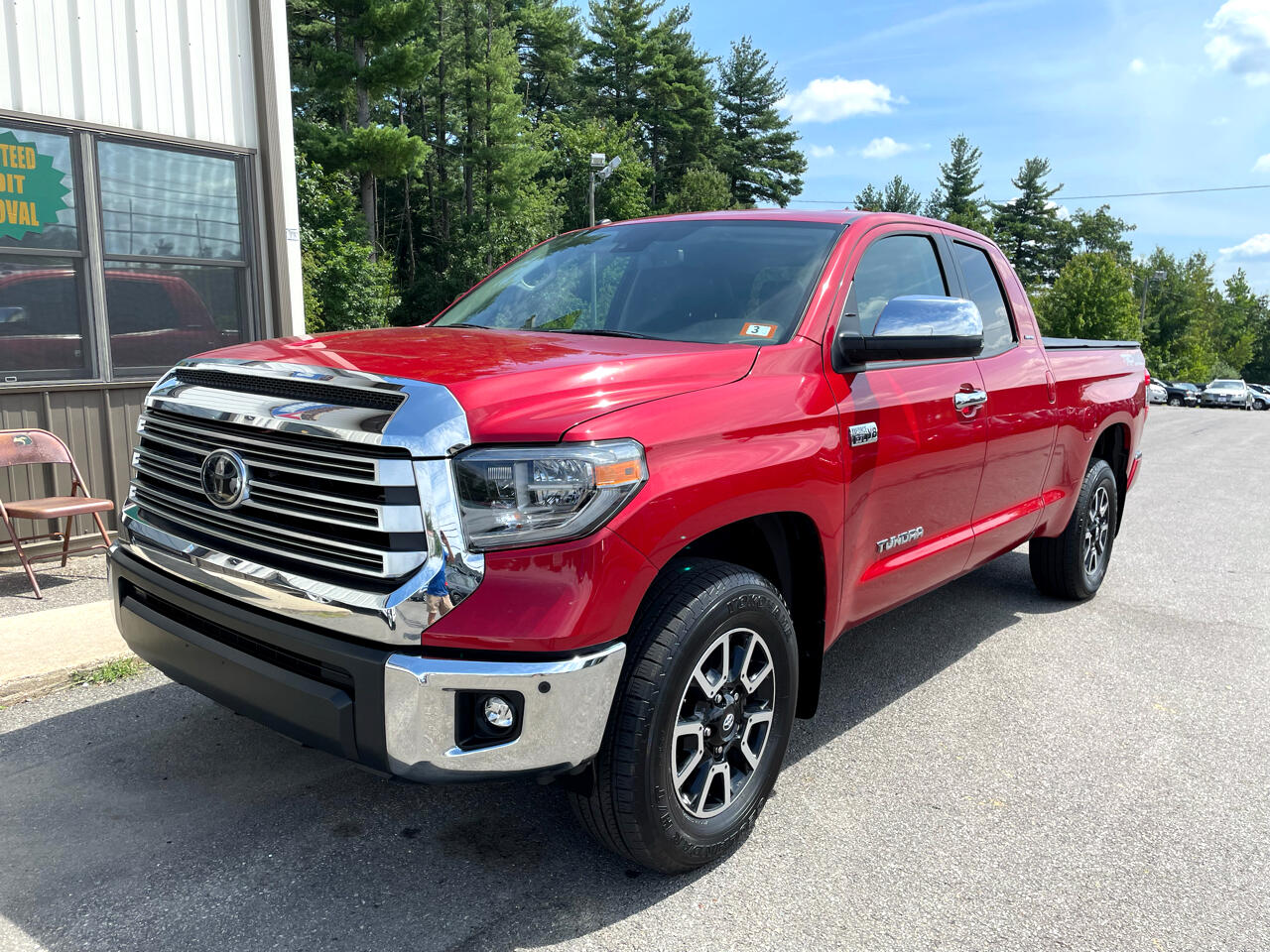 Toyota Tundra 4WD Limited Double Cab 6.5' Bed 5.7L (Natl) 2018