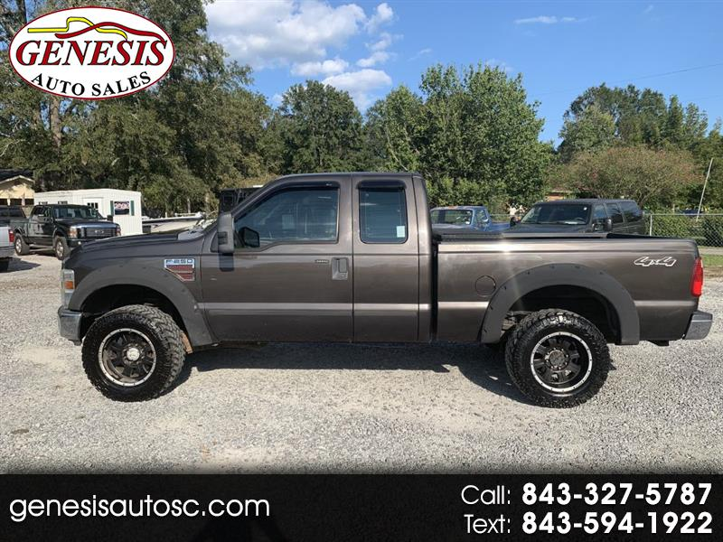 Ford F-250 SD XLT SuperCab Short Bed 4WD 2008