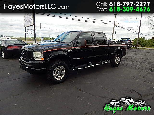 2004 Ford F-250 SD Crew Cab Short Bed Harley Davidson