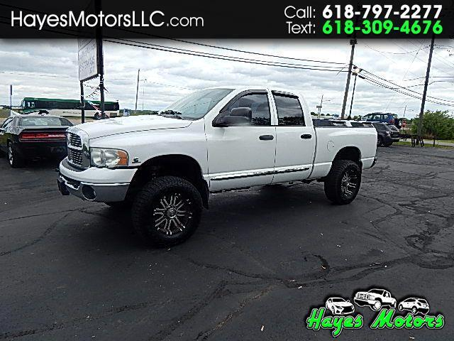 2004 Dodge Ram 2500 Laramie Quad Cab Short Bed 4WD