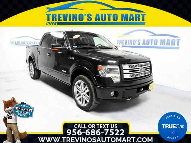 2013 Ford F-150 Limited 4WD SuperCrew 5.5-ft