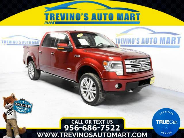 2013 Ford F-150 Limited 4WD SuperCrew 5.5' Box