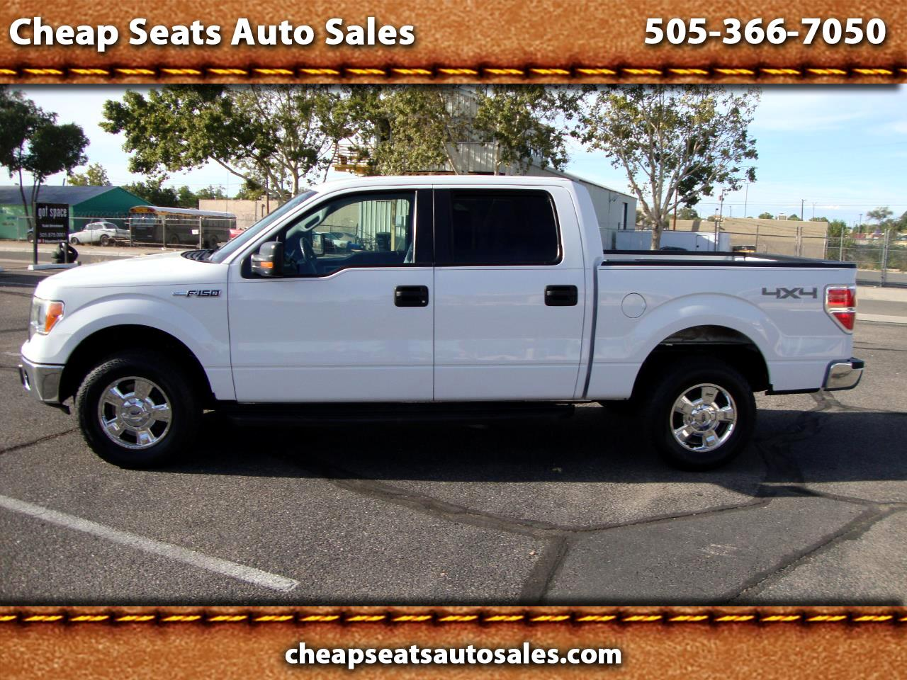 "2011 Ford F-150 SuperCrew Crew Cab 139"" XLT 4WD"