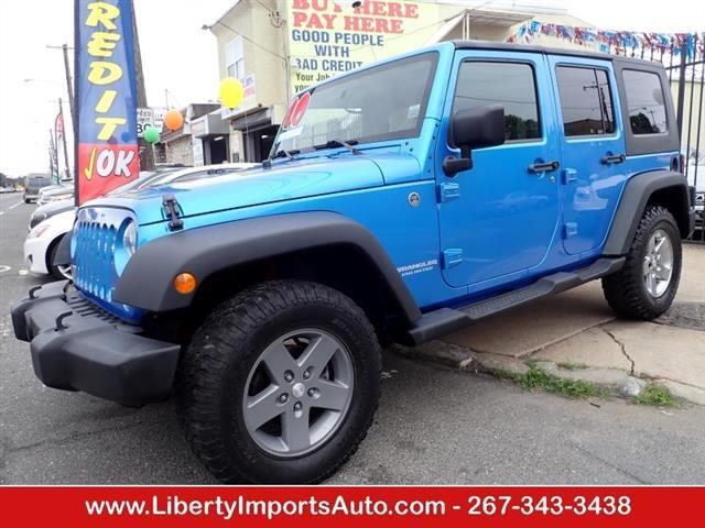 2010 Jeep Wrangler Unlimited Unlimited Sport 4WD