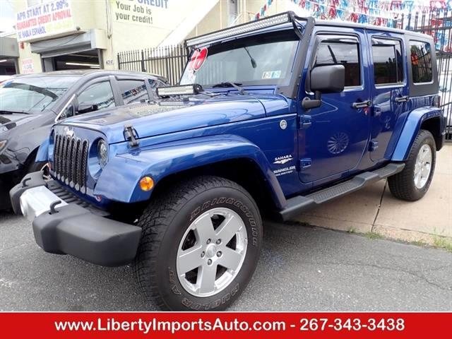 2010 Jeep Wrangler Unlimited Unlimited Sahara 4WD