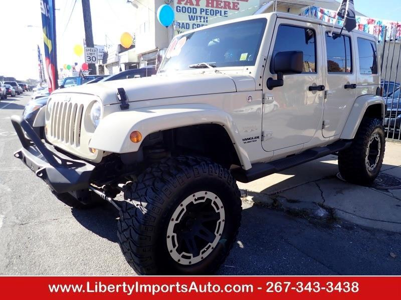 2012 Jeep Wrangler Unlimited Unlimited Sahara 4WD