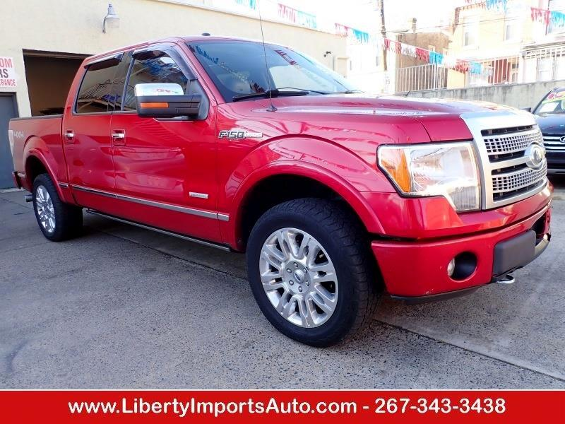 2012 Ford 150 Platinum SuperCrew 5.5-ft. Bed 4WD