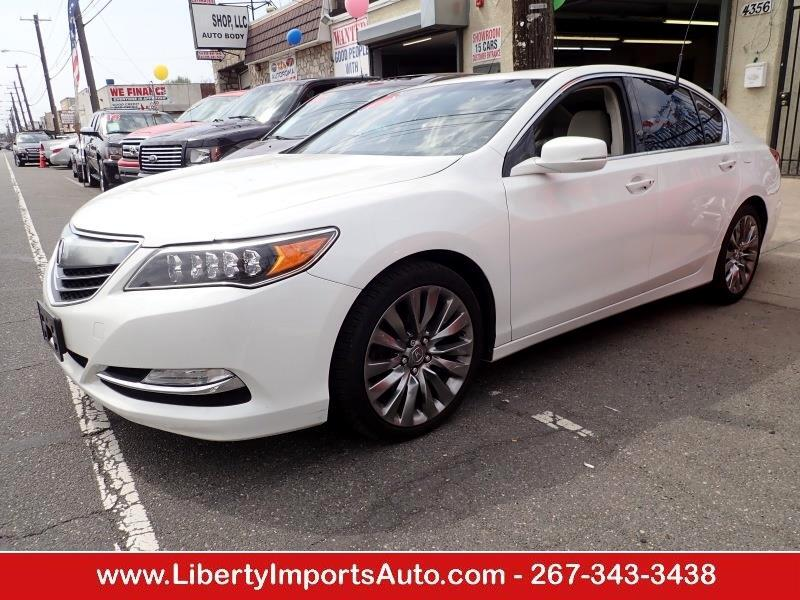 2016 Acura RLX 6-Spd AT w/Technology Package